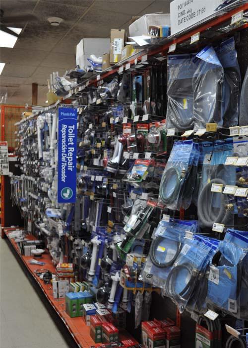 plumbing and hardware store